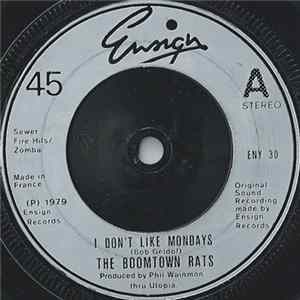 The Boomtown Rats - I Don't Like Mondays Musikalbum