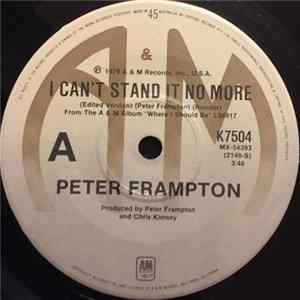 Peter Frampton - I Can't Stand It No More Musikalbum